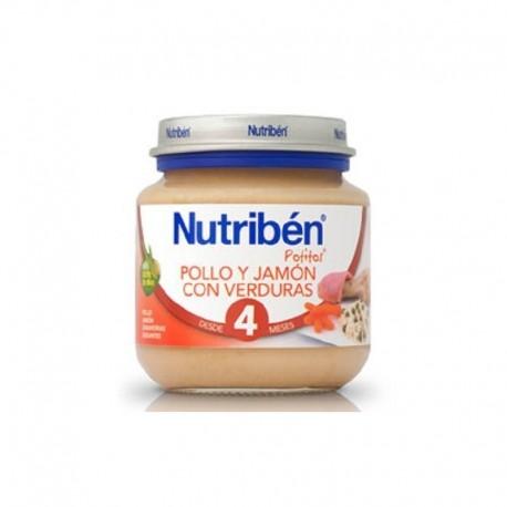 NUTRIBEN BEBE INICIO JAM/POLLO/VERD 130G