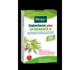 KNEIPP VALERIANA PLUS CON VITAMINA B 40 GRAGEAS