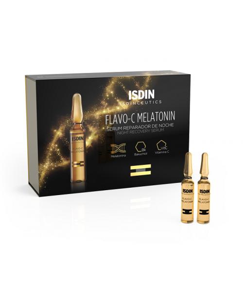 Isdinceutics Flavo-C Melatonin Noche 10 ampollas