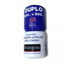 neutrogena comfort balm hidratacion profunda car 300 ml + 300 ml